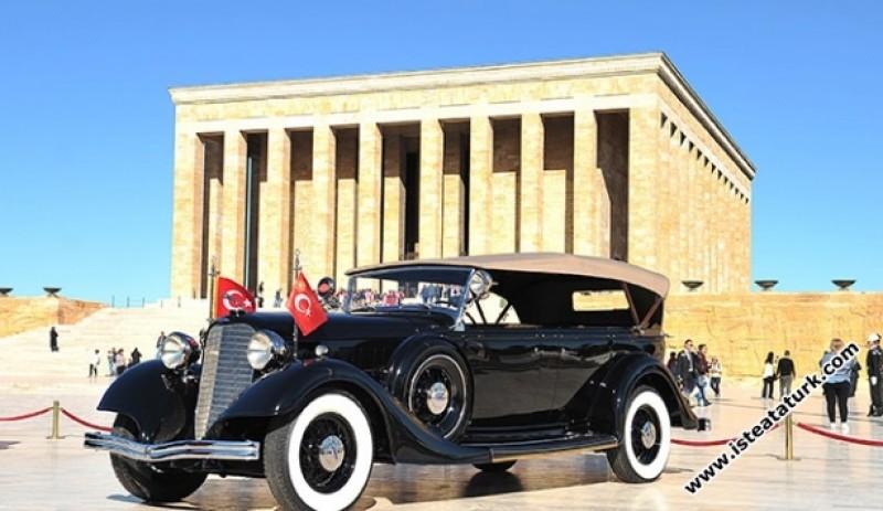 Atatürk'ün Tören Arabası, Lincoln, Cabriolet - 1934