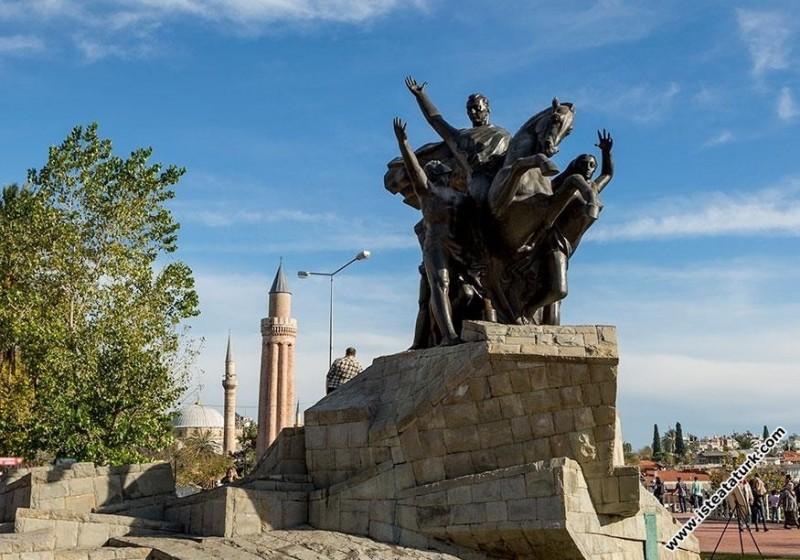 Ulusal Yükseliş Anıtı, Antalya