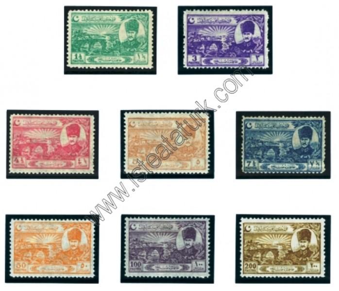 Türk Postaları 01.01.1924
