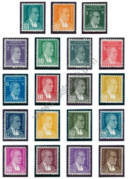Türk Postaları 1931-1932
