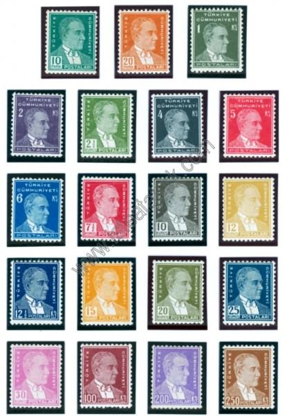 Türk Postaları 1933-1940