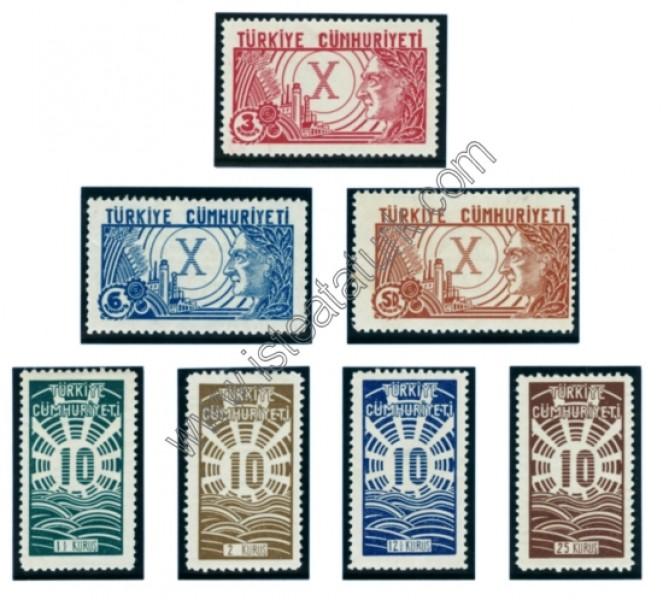 Türk Postaları 29.10.1933
