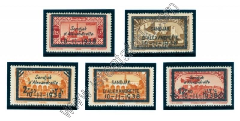 Hatay Devleti Pulları - Ata Matem Anma Serisi 10.11.1938
