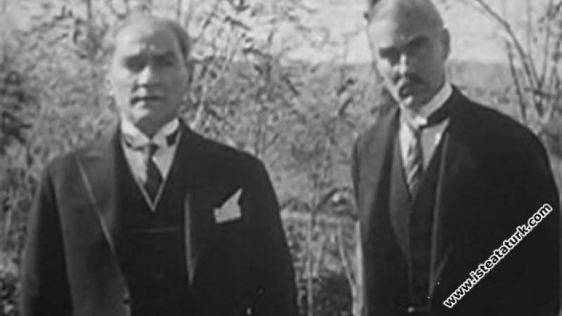 Gazi Mustafa Kemal'in Amerikalılara Hitabı. (11.11...