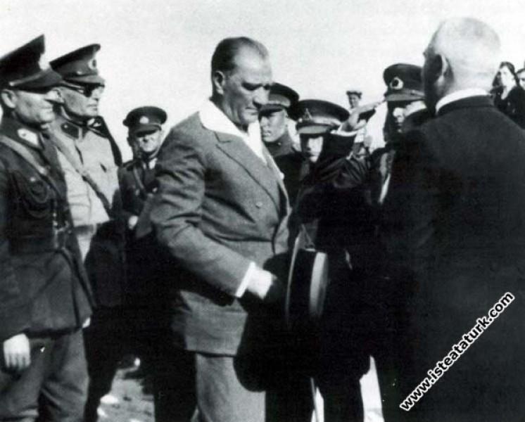 Mustafa Kemal Atatürk'ün Bolu'yu ziyareti sırasınd...