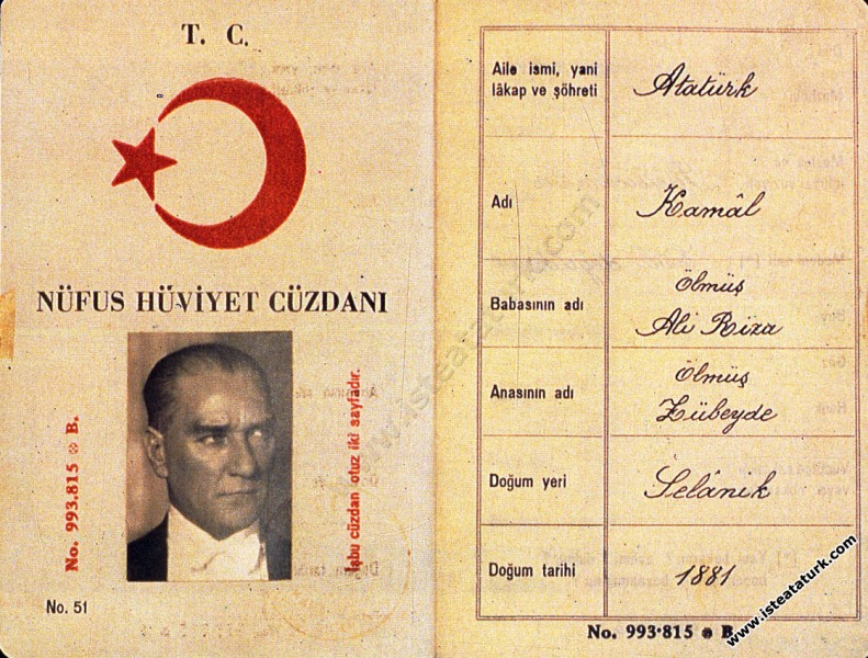 Mustafa Kemal Atatürk'ün Soyu