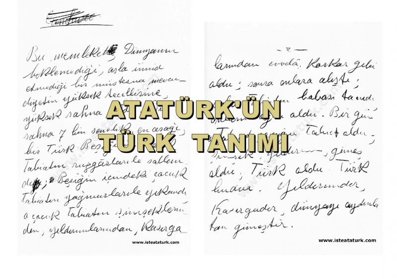 Türk Milleti'nin Özellikleri, Türk Kimdir?