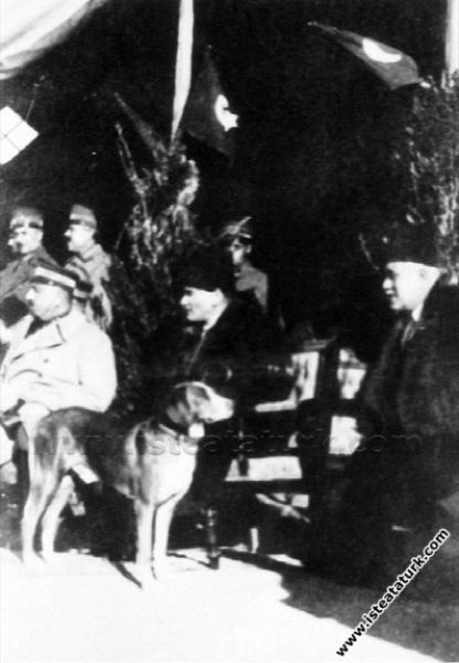 Mustafa Kemal Paşa Adana'da, Fahrettin Altay Paşa'...