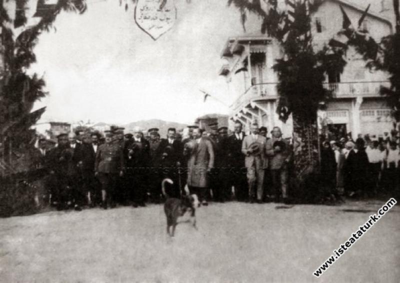 Mustafa Kemal Atatürk'ün Balıkesir'i ziyareti. Bu ...
