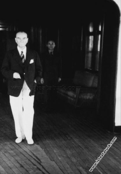 Savarona Yatı'nda ilk gün, İstanbul. (01.06.1938)