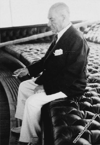 Savarona Yatı'nda ilk gün, İstanbul. (01.06.1938)...