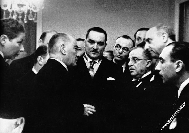 Balkan İttifakı Başbakanlarını Çankaya Köşkü'nde k...