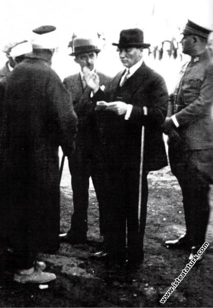 Mustafa Kemal Atatürk Ankara'da. (07.01.1931)