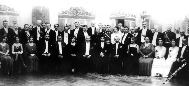 Mustafa Kemal Atatürk Japon Veliahtı Takamutsu şer...