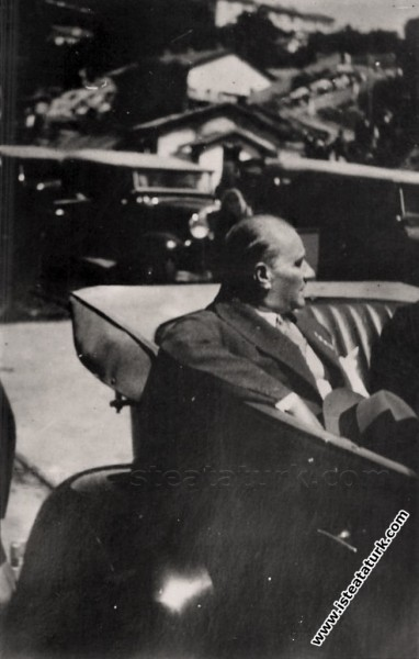 Mustafa Kemal Atatürk Zonguldak'ta. (26.08.1931)...