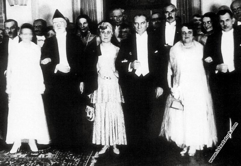 Mustafa Kemal Atatürk Yunanistan Başbakanı Venizel...