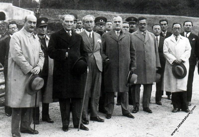 Mustafa Kemal Atatürk İstanbul Belgrad Ormanları'n...