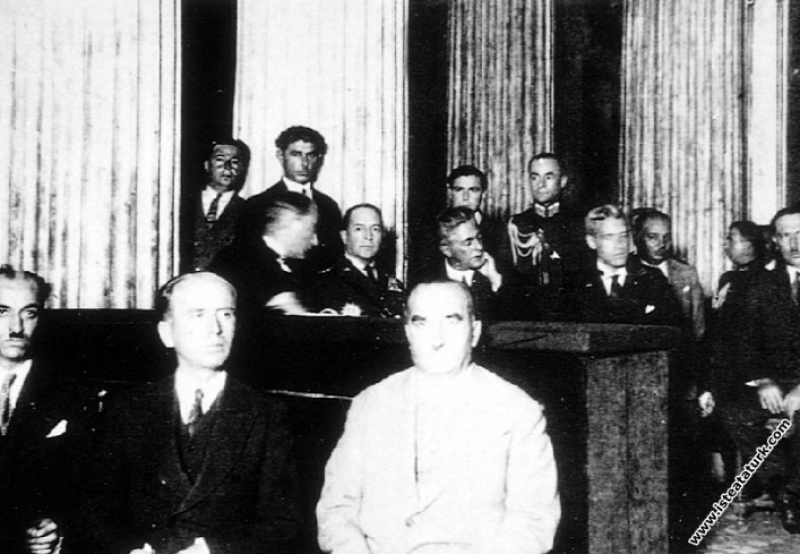 Mustafa Kemal Atatürk Amerikan Genelkurmay Başkanı...