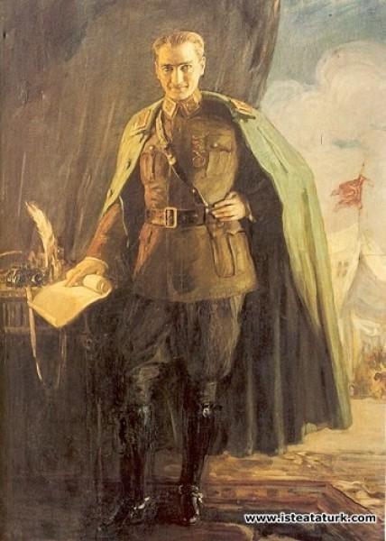 Mihri Rasim (Müşfik), Mareşal Atatürk