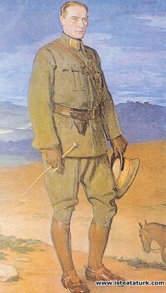 Prof. Arthur Kampf, Atatürk, Çankaya Köşkü, 1927
