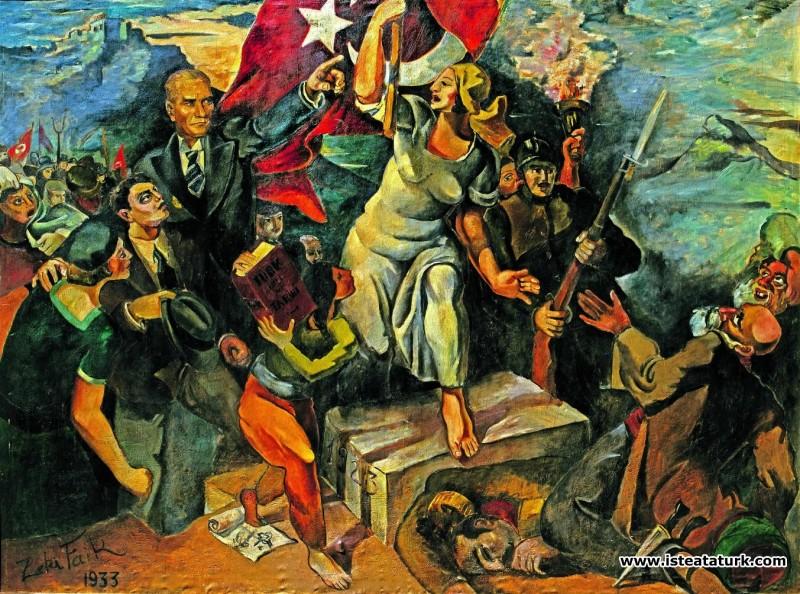 Zeki Faik İzer, İnkılap Yolunda, 1933