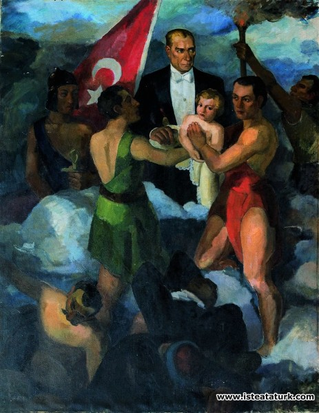 Arif Bedii Kaptan, Cumhuriyet'in Gençliğe Tevdii, 1933
