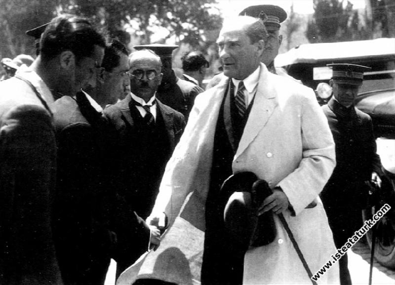 Mustafa Kemal Atatürk İstanbul Tarabya'daki Tokatl...