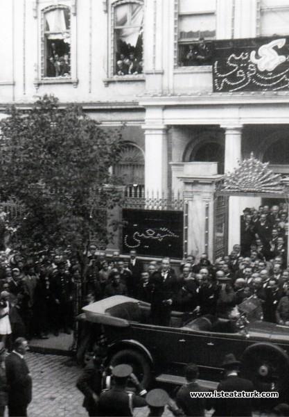 Mustafa Kemal Atatürk'ün Cağaloğlu'ndaki CHP binas...