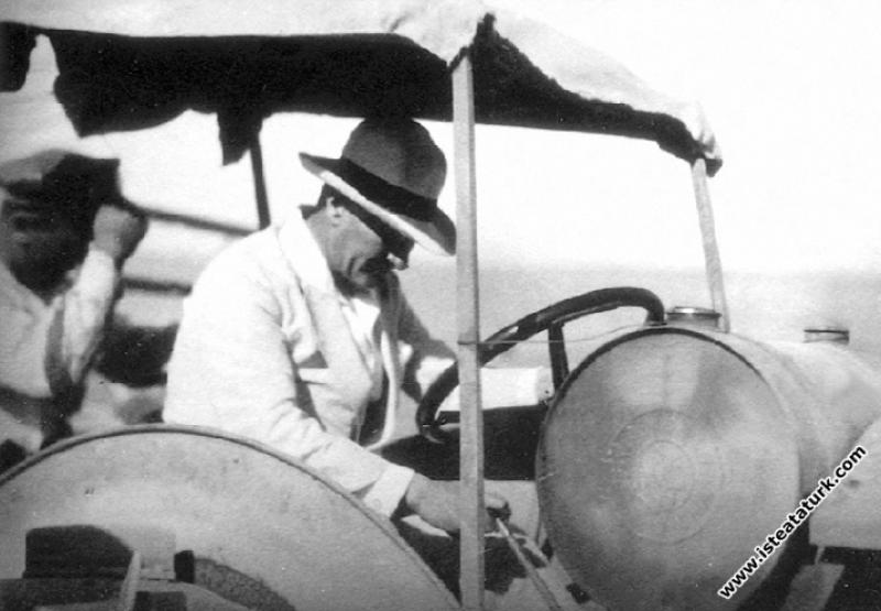 Mustafa Kemal Atatürk Gazi Orman Çiftliği'nde kuru...