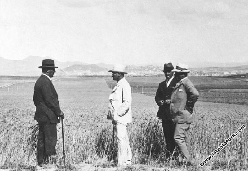 Mustafa Kemal Atatürk Gazi Orman Çiftliği'nde tarl...