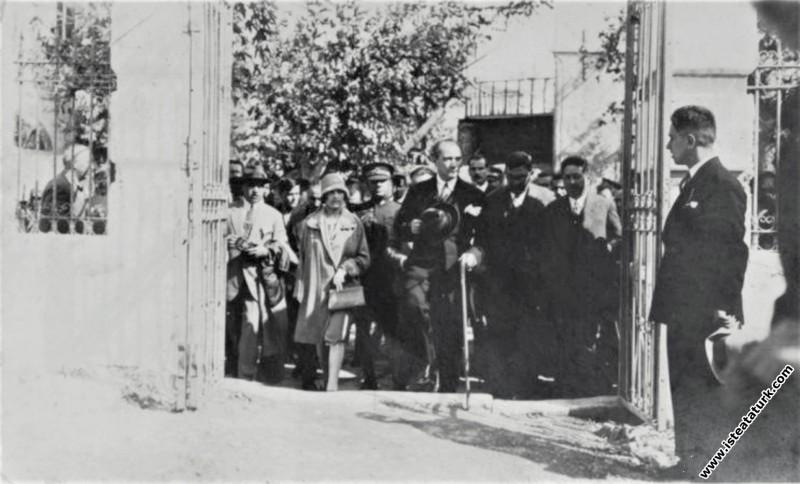 Mustafa Kemal Atatürk'ün Çanakkale'ye gelişi ve Ge...