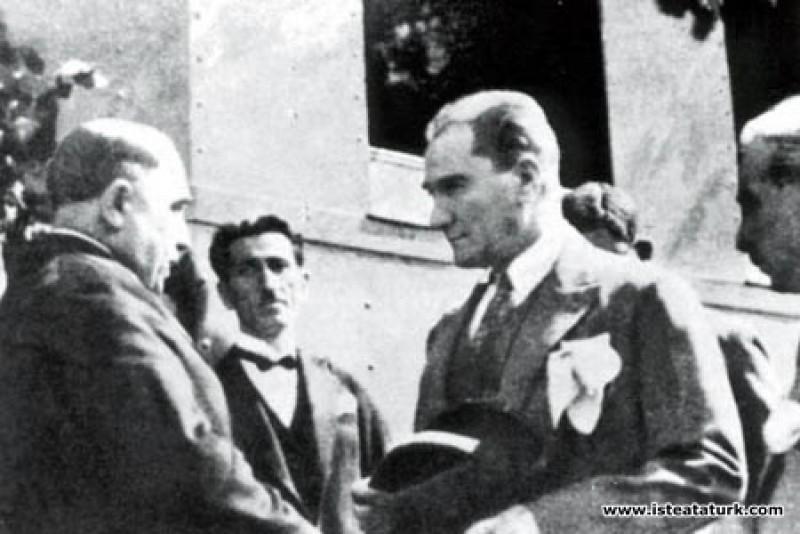 Mustafa Kemal Atatürk Samsun-Sivas Demiryolu hattı...