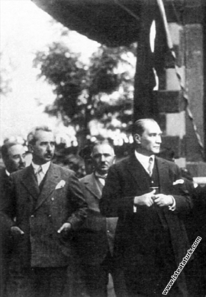 Mustafa Kemal Atatürk Kayseri CHP Parti binasının ...