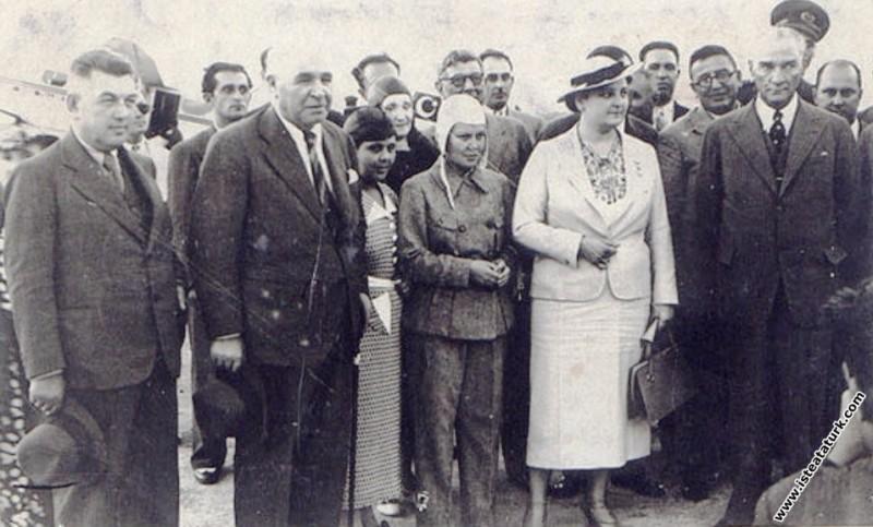 Mustafa Kemal Atatürk Afet İnan, Ali Çetinkaya ve ...