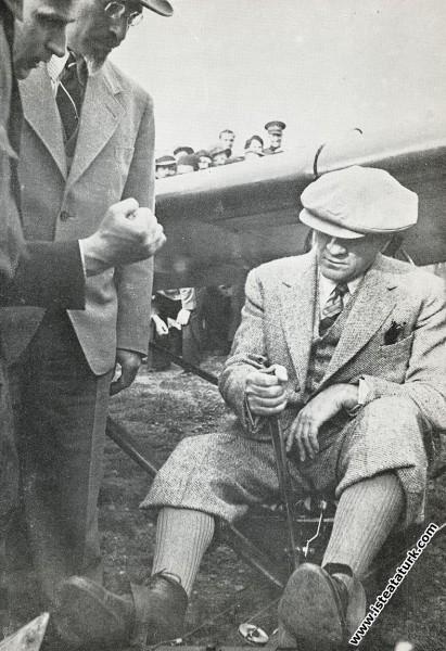 Mustafa Kemal Atatürk Ankara Etimesgut Havaalanı'n...