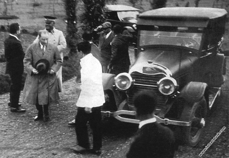 Mustafa Kemal Atatürk Ankara Gazi Orman Çiftliği'n...