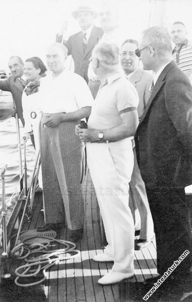 Mustafa Kemal Atatürk Kabotaj Bayramı'nda, Celal B...