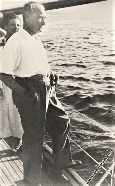 Mustafa Kemal Atatürk Kabotaj Bayramı'nda, manevi ...
