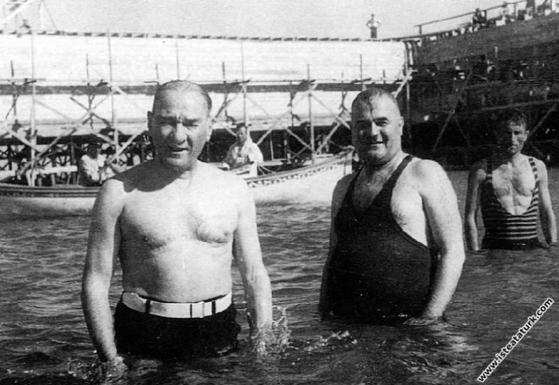 Mustafa Kemal Atatürk Florya'da, Kılıç Ali ve Sali...