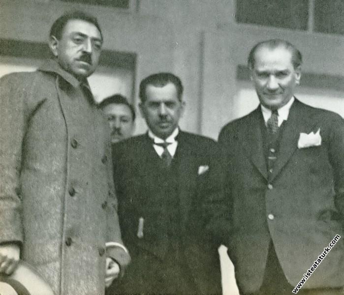 Ankara'ya gelen Eski Afgan Kralı Amanullah Han ile...