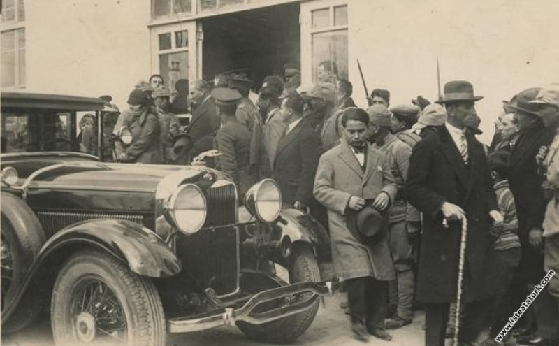 Mustafa Kemal Atatürk'ün Isparta Orduevi'nden ayr...