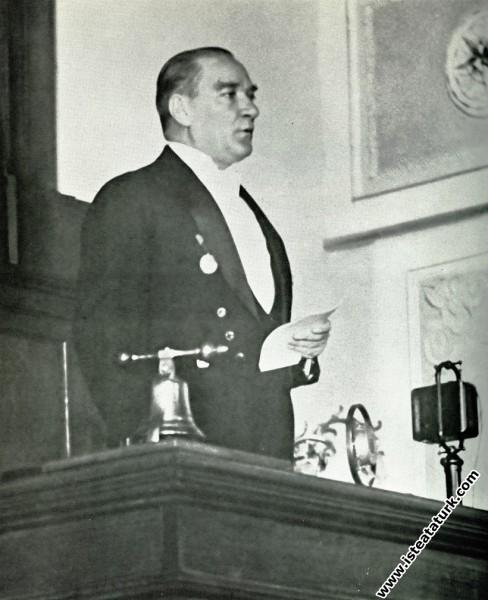 Mustafa Kemal Atatürk, Meclisin 3. Dönem 4. Yasama...
