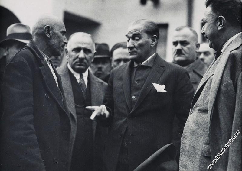 Mustafa Kemal Atatürk Kayseri'de, haksız isteğe ve...