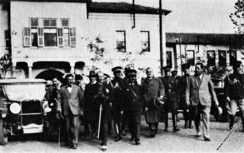 Mustafa Kemal Atatürk Kayseri Hükümet Konağı'ndan ...