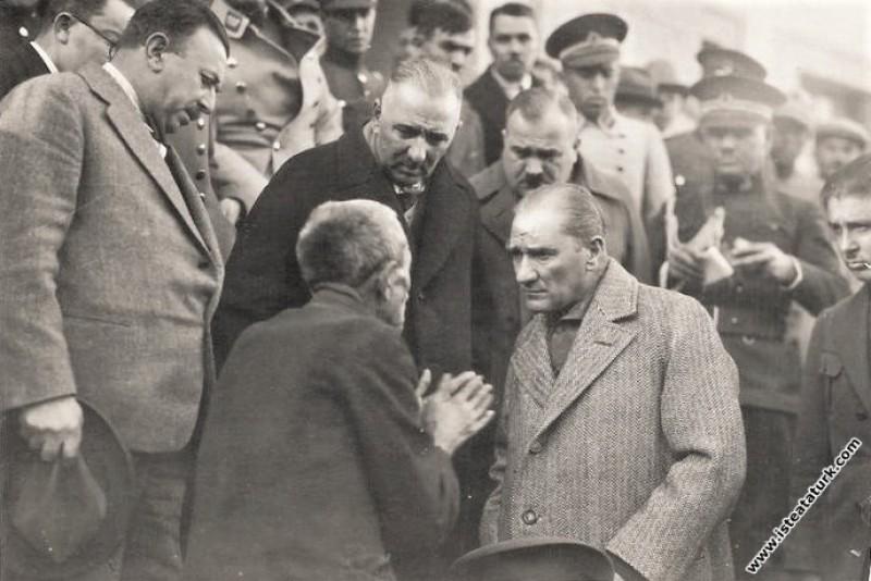 Mustafa Kemal Atatürk'ün Tokat'ta bir ihtiyarın de...