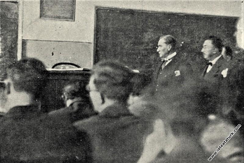 Mustafa Kemal Atatürk İstanbul Galatasaray Lisesi'...