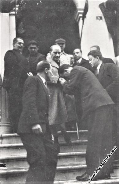 Mustafa Kemal Atatürk Edirne Türkocağı'ndan çıkark...