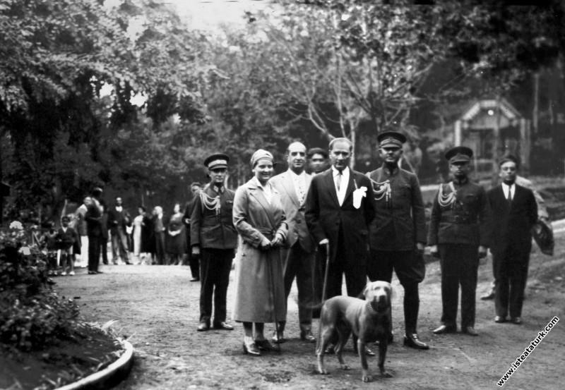 Mustafa Kemal Atatürk İstanbul, Gülhane Parkı'nda ...
