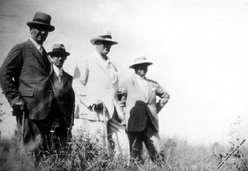 Mustafa Kemal Atatürk Gazi Orman Çiftliği'nde ince...