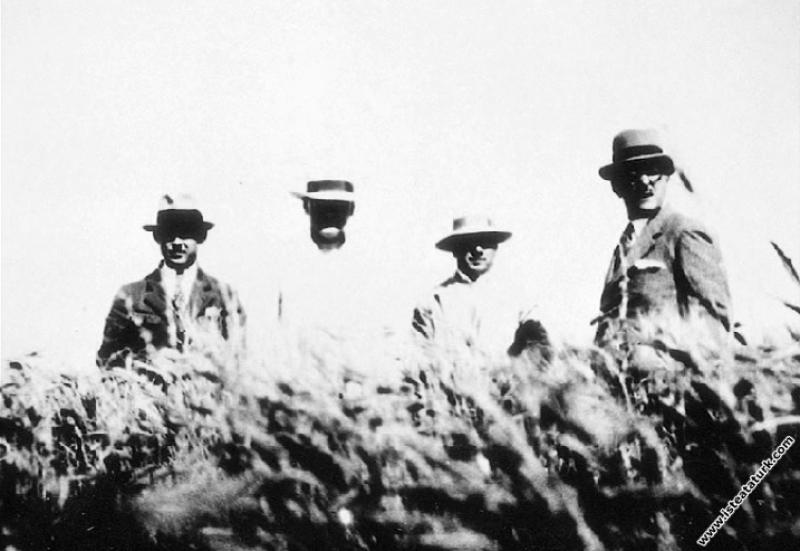 Mustafa Kemal Atatürk Gazi Orman Çiftliği'nde yılı...